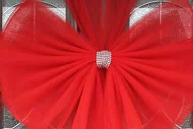 Standard Christmas Door Bows