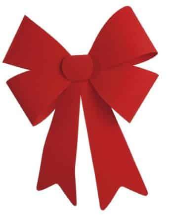 Red Flock Bows