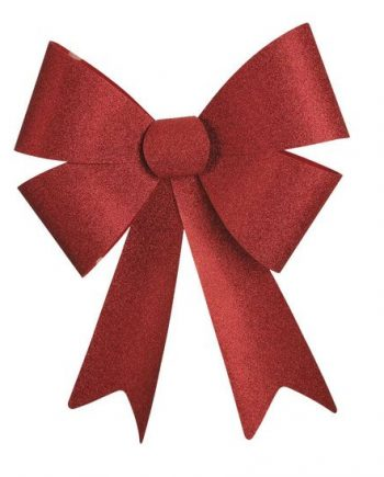 Red Glitter Bow