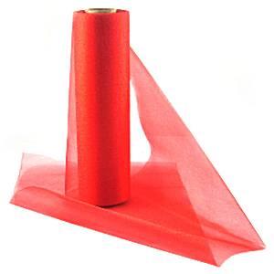 Red Organza Roll