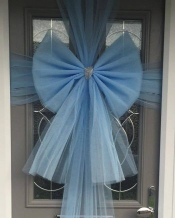 NEW BABY DOOR BOWS