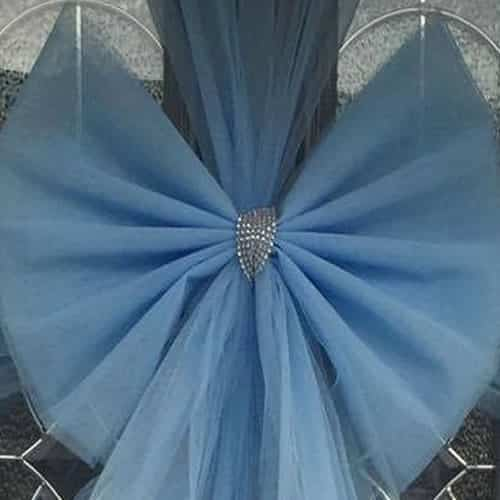 Baby Blue Door Bow