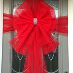 Double Deluxe Red Door Bow