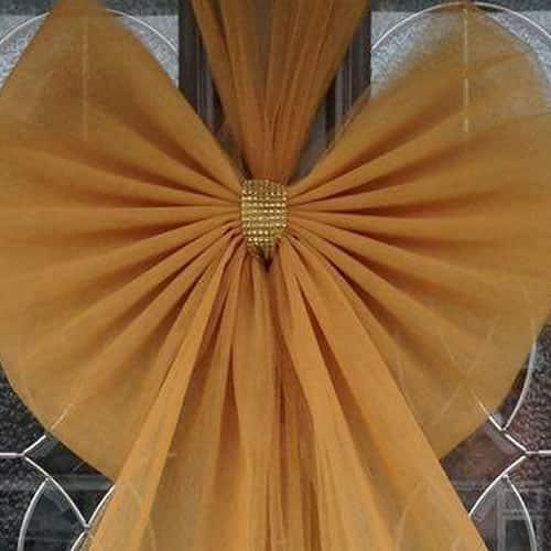 Gold Door Bow