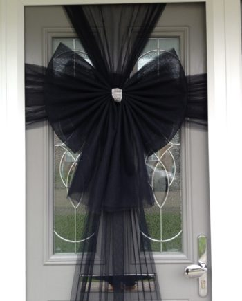 Black Door Bow