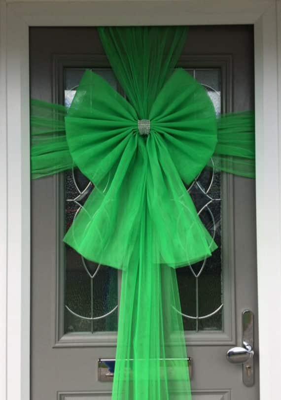 Green Door Bow