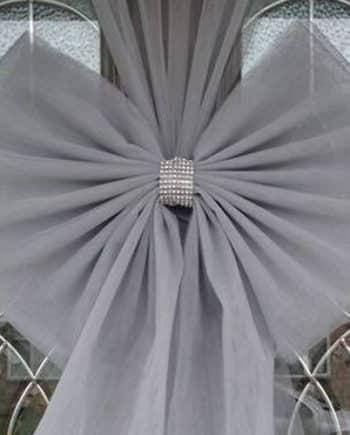 Silver Door Bow
