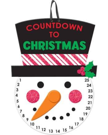 Countdown to Christmas Hanging Sign