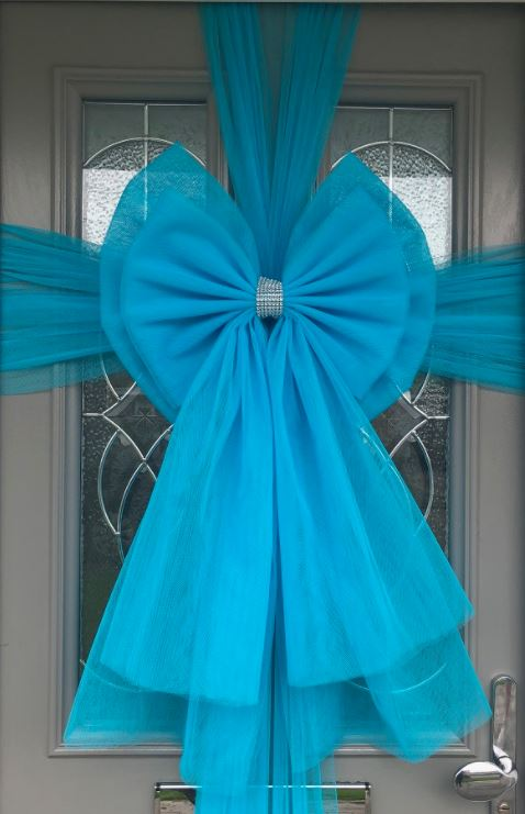 Turquoise Door Deluxe Bow Decoration Kit