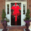 Door Bow Decoration Kit - Red - XL