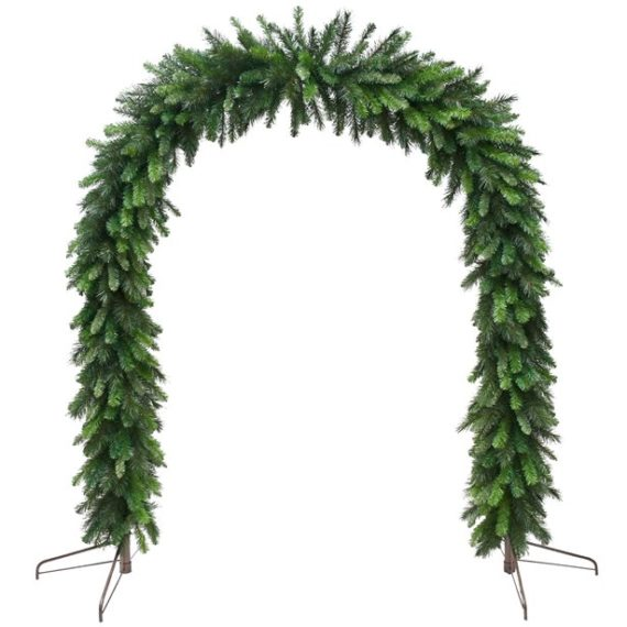 Deluxe Festive Evergreen Arch