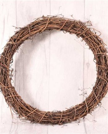 Natural Round Vine Wreath