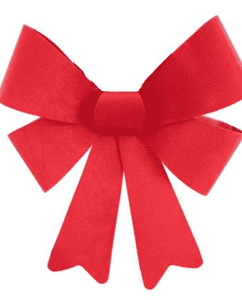 Red Velvet Christmas Bows